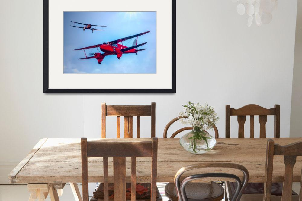 """The de Havilland DH.90 Dragonfly""  (2014) by ChrisLord"