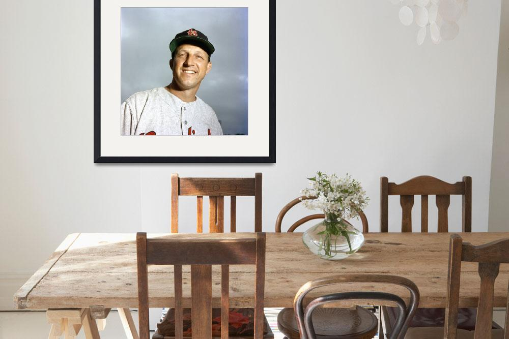 """""""Stan Musial close up&quot  by RetroImagesArchive"""