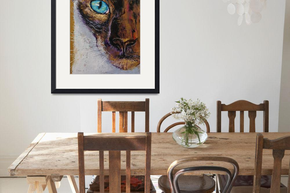 """""""Siamese Cat Painting""""  by creese"""