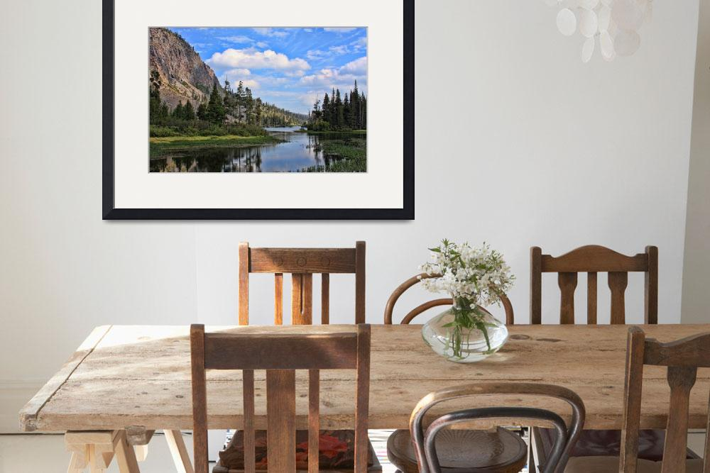 """""""Twin Lakes Mammoth Lakes CA&quot  by manusferrea"""