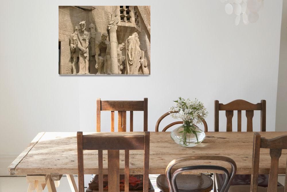 """Sagrada Familia: The Judgement of Jesus""  (2008) by joelrichter"