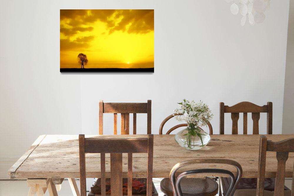 """Yellow dawn""  (2009) by Razumov"