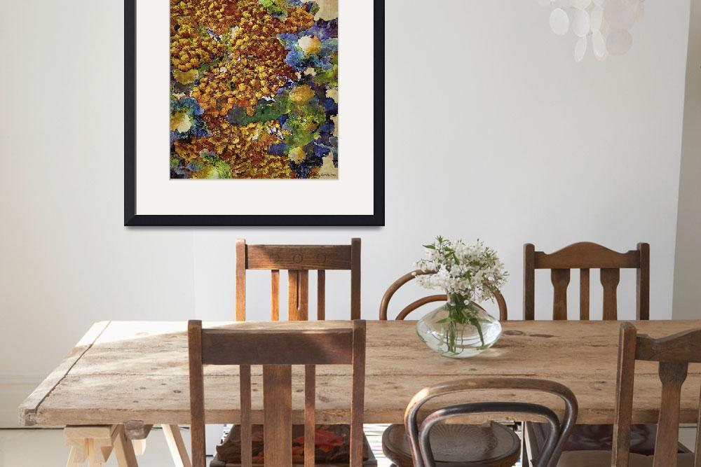 """""""French Country Print&quot  (2010) by RCdeWinter"""
