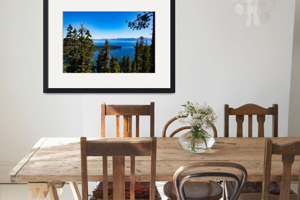 """Lake Tahoe""  by LRagsdalePhoto"