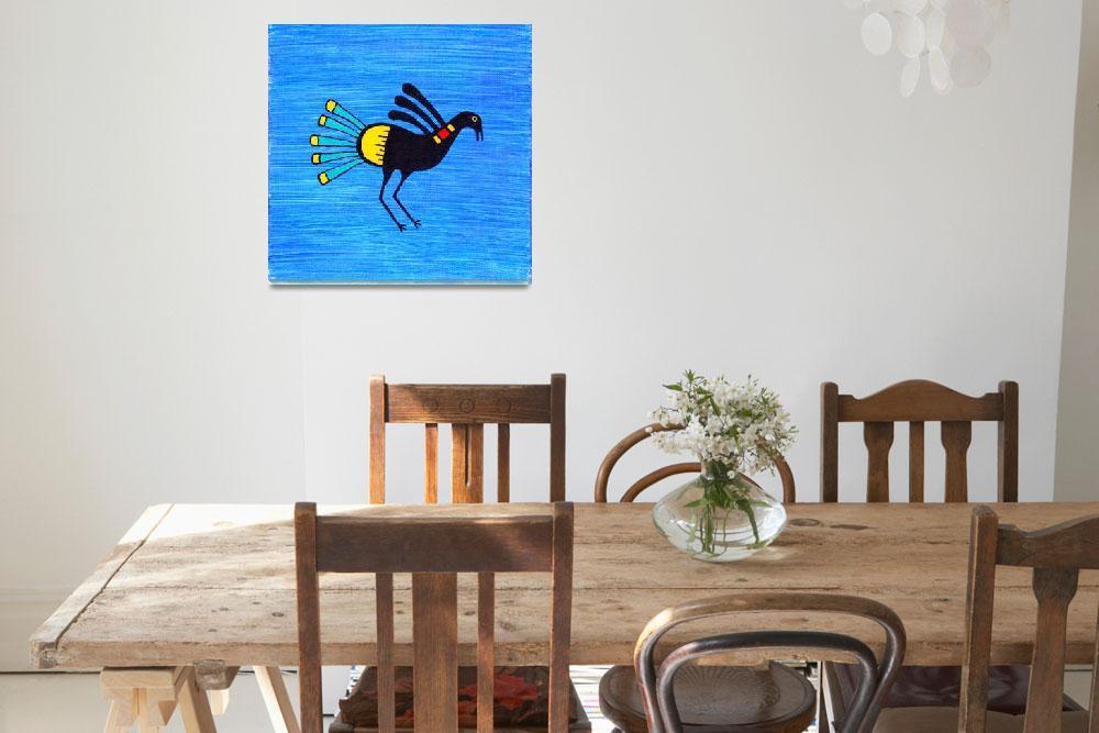 """Santo Domingo Turkey, original painting""  (2013) by LimeCreekArt"