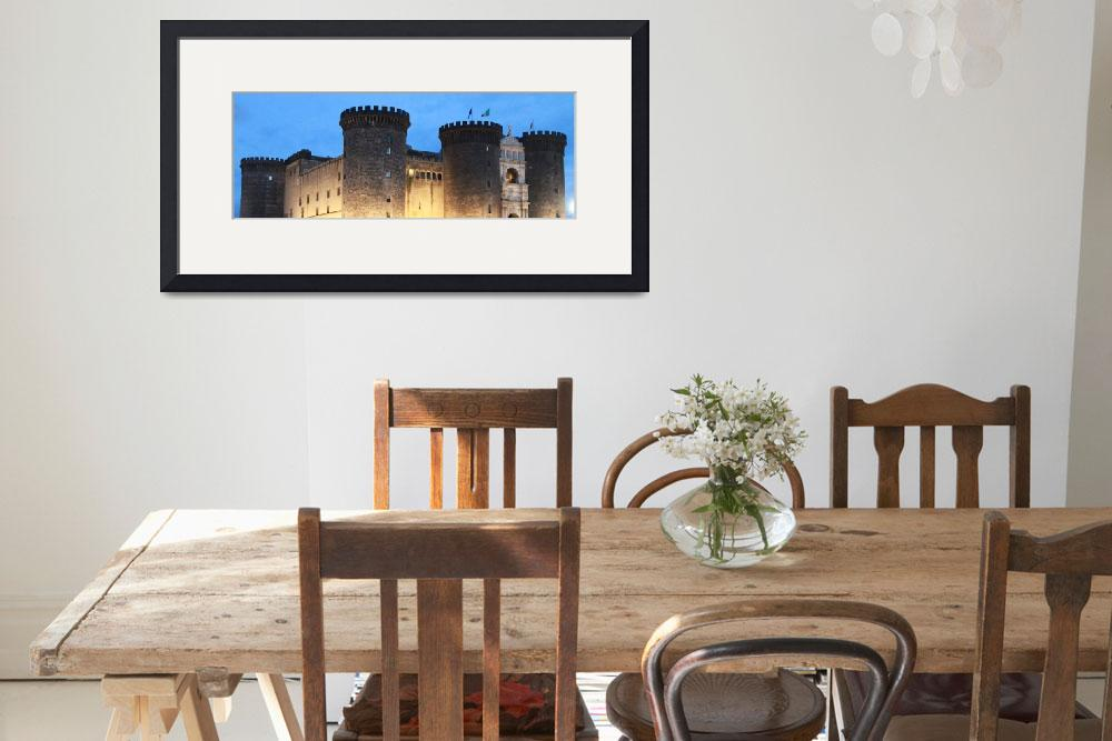 """""""Castel Nuovo, Naples, Italy&quot  (2010) by easyfigure"""