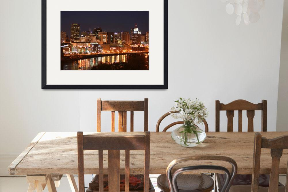 """St Paul River View&quot  (2005) by WaynePhotoGuy"