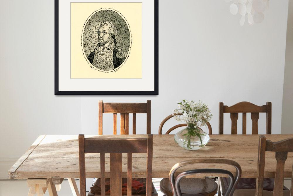 """""""Portrait of George Washington Poster 2&quot  by motionage"""