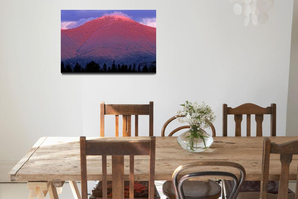 """""""Mountains of New Hampshire - Mount Eisenhower""""  (2004) by timseaver"""