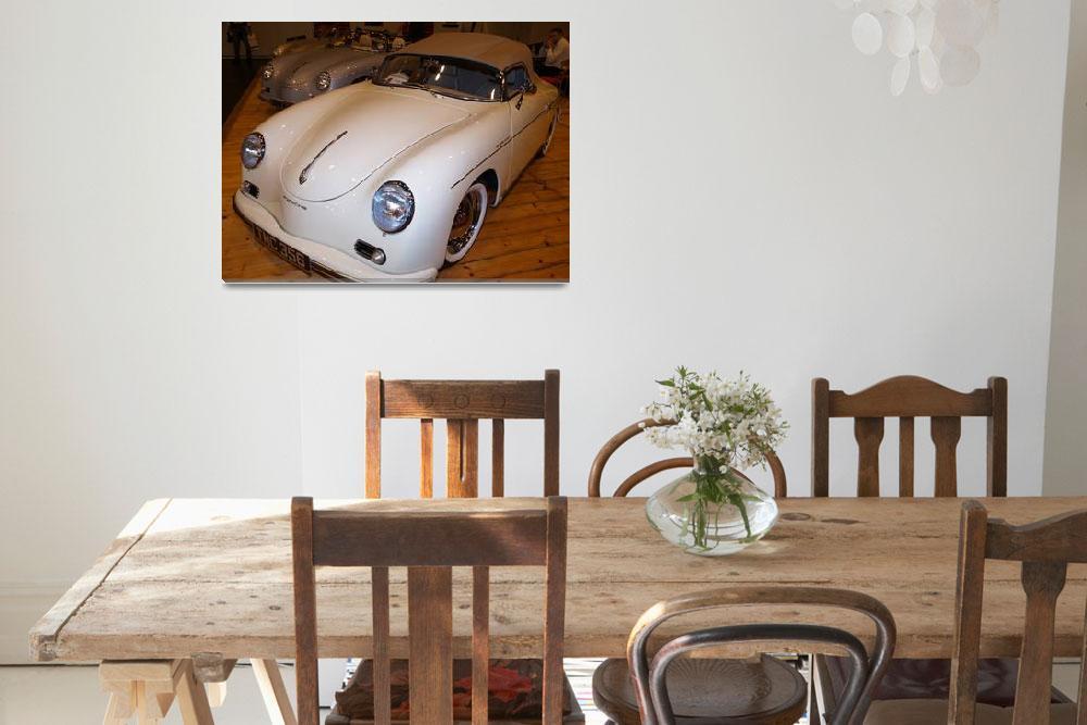 """""""Porsche Speedster 365 Convertible Sports Cars""""  (2008) by imagetaker"""