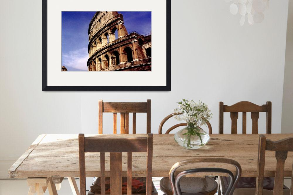 """""""Colosseo&quot  (2007) by MichelleLambert"""