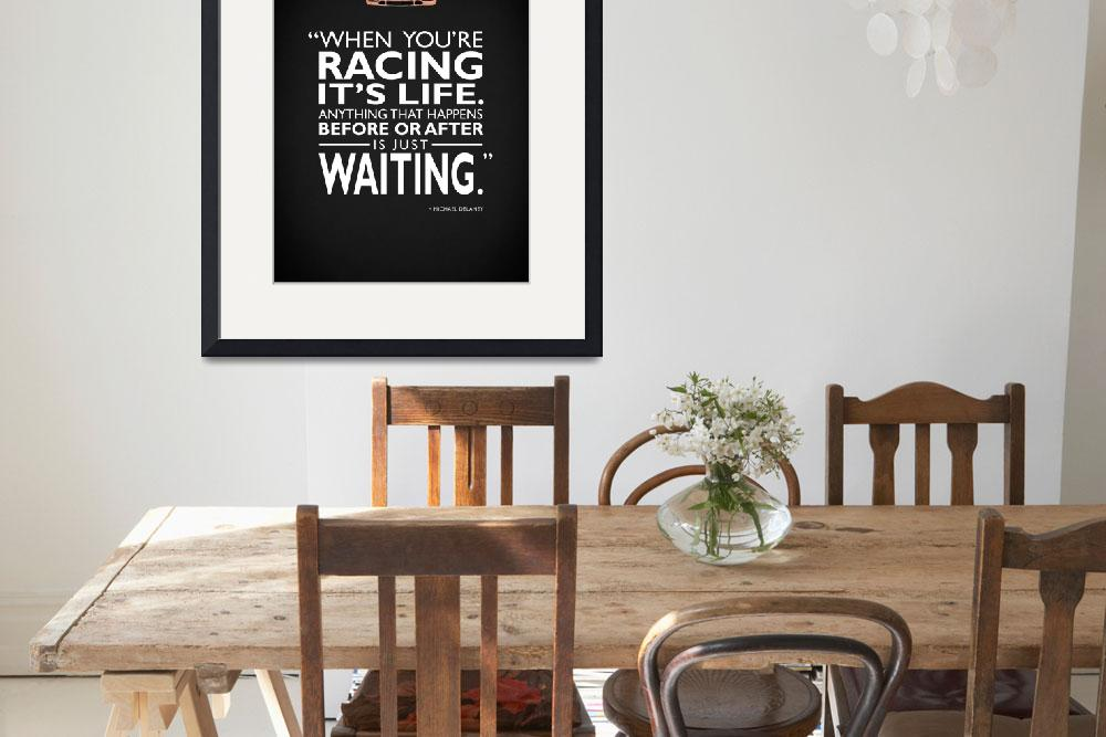 """When Youre Racing Its Life&quot  (2013) by mark-rogan"