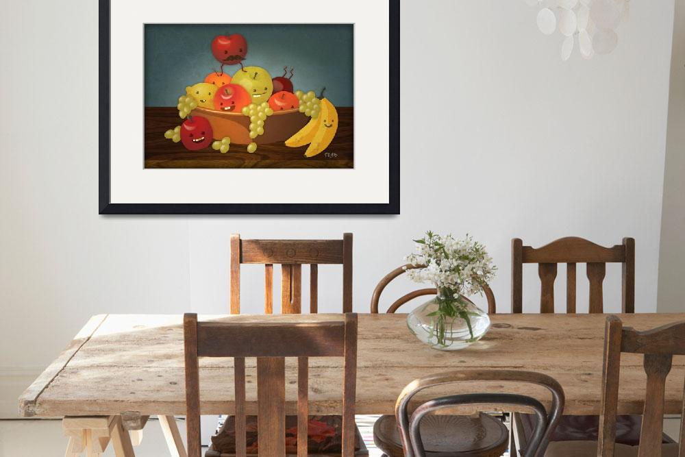 """Froot Bowl - Still Life&quot  (2009) by ph7labs"