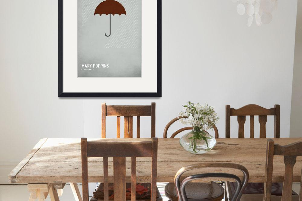 """""""Mary Poppins&quot  (2010) by squareinchdesign"""