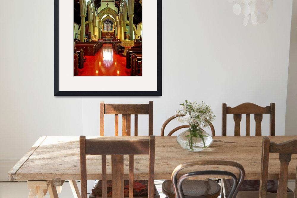 """""""Sanctuary Christ Church Cathedral (2)&quot  (2010) by Markomarko"""