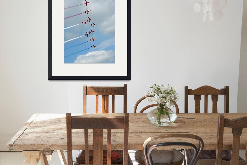 """""""Red Arrows&quot  by sjdphotography"""