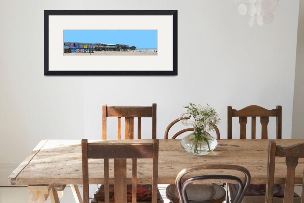 """""""south side 24x30 Cocoa Beach Pier&quot  (2011) by wgilroy"""
