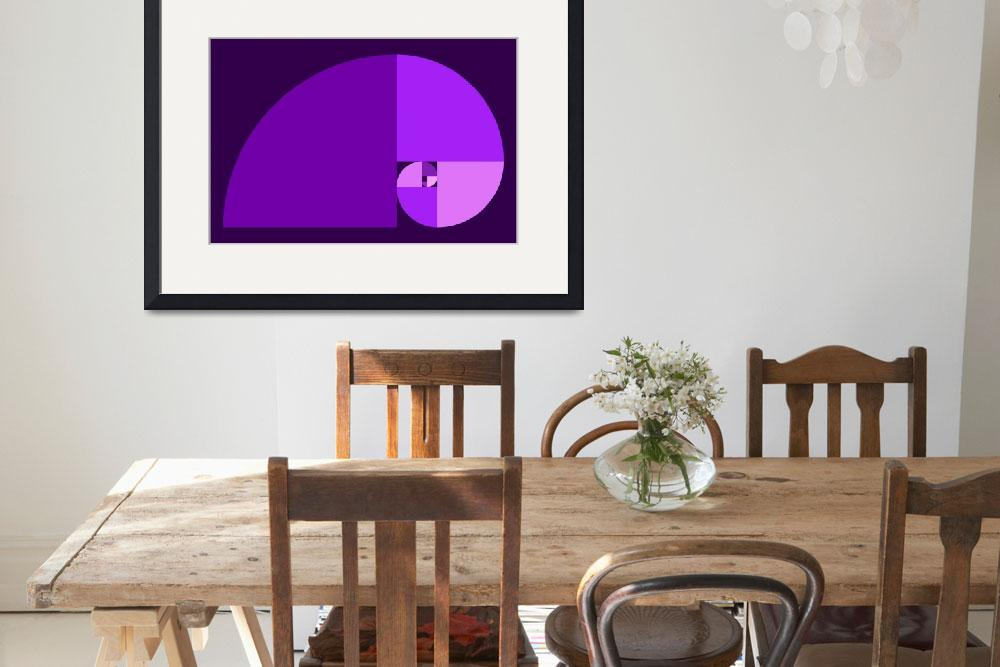 """Golden Ratio, Purple&quot  by Ars_Brevis"