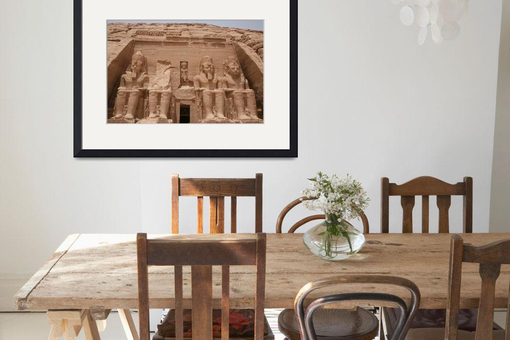 """""""The Sun Temple of Ramses II&quot  (2008) by DonnaCorless"""