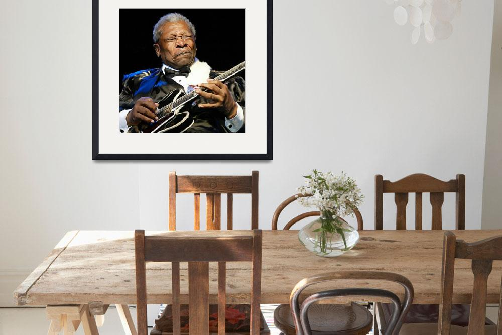 """BB King&quot  (2010) by chriscartledge"