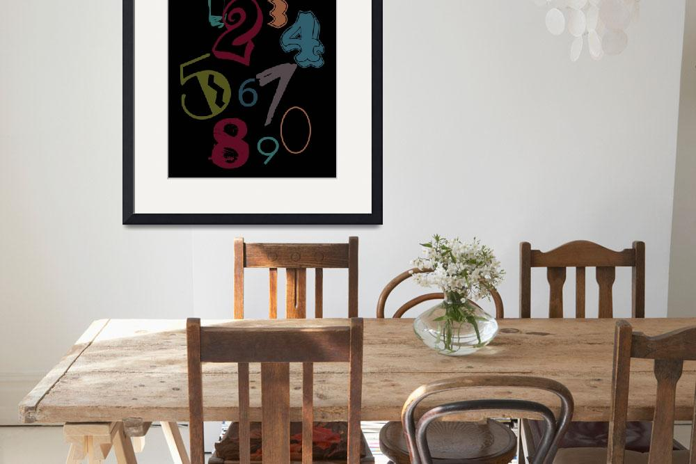 """""""123 Typography&quot  (2012) by RooberryLane"""