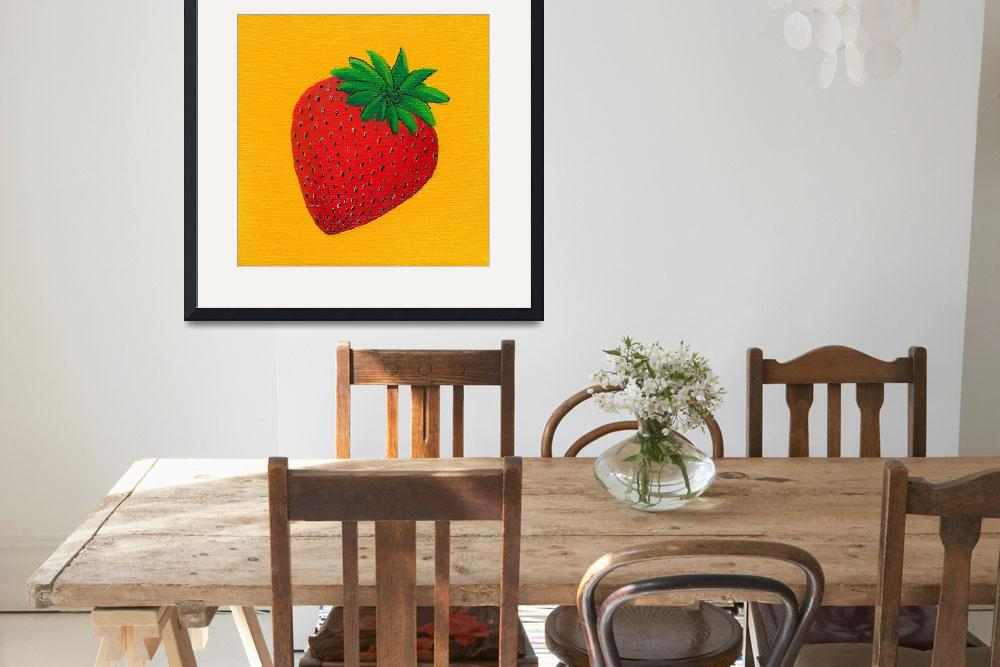 """""""S Is For Strawberry&quot  (2010) by LibbyJohnston"""