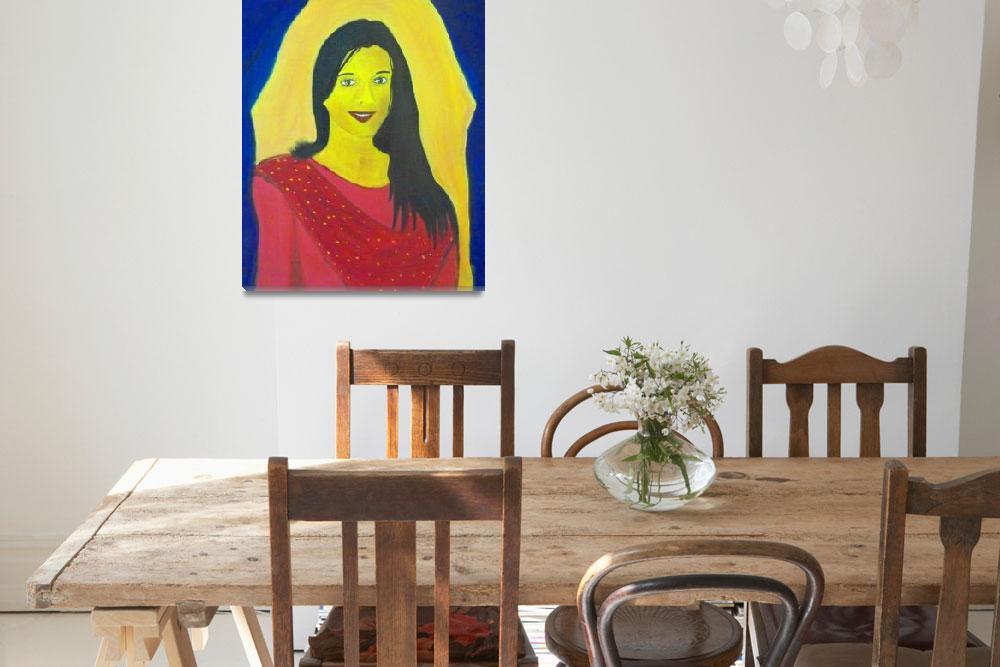 """Oil on Canvas - Portrait of Suyasha..!!!""  (2009) by RahulKapoor"