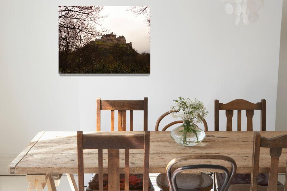 """Edinburgh Castle, Scotland""  (2008) by ScottishCamel"