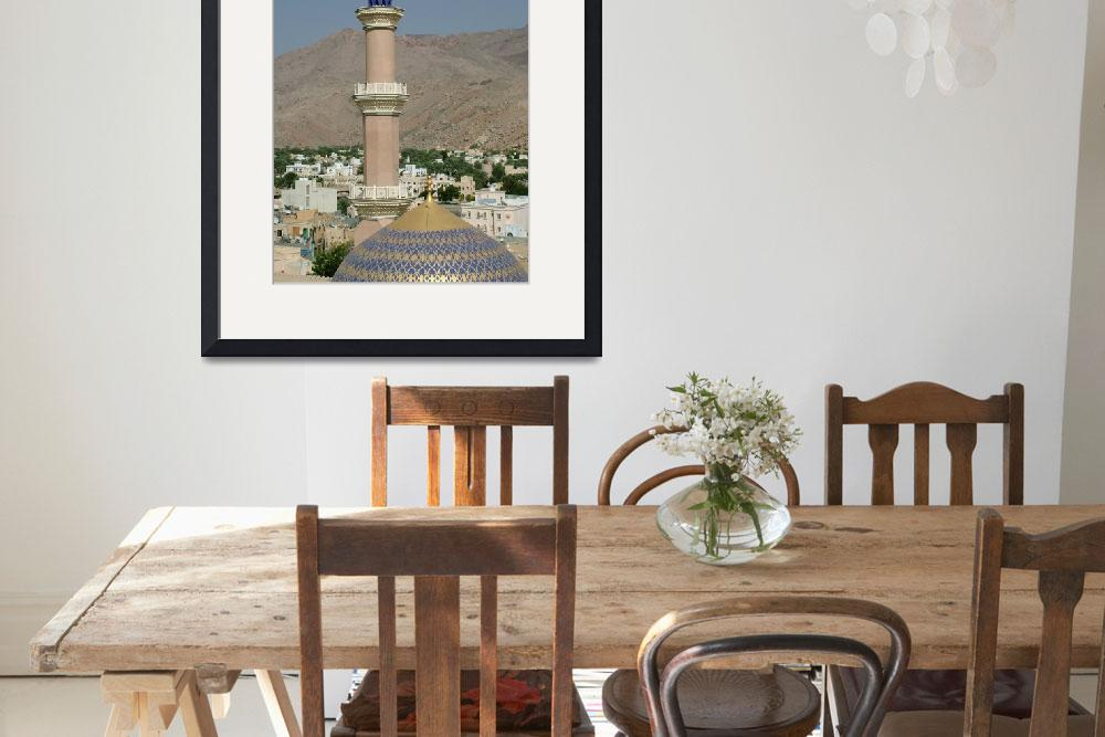 """""""Mosque in Nizwa, Oman&quot  by DonnaCorless"""