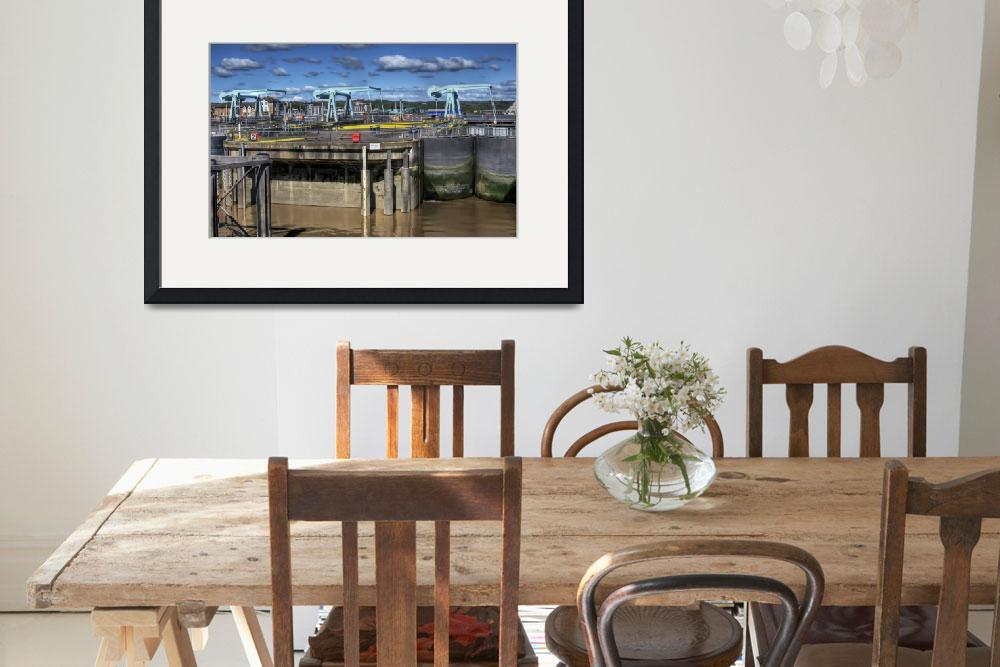 """""""Cardiff Bay Barrage&quot  by StevePurnell"""
