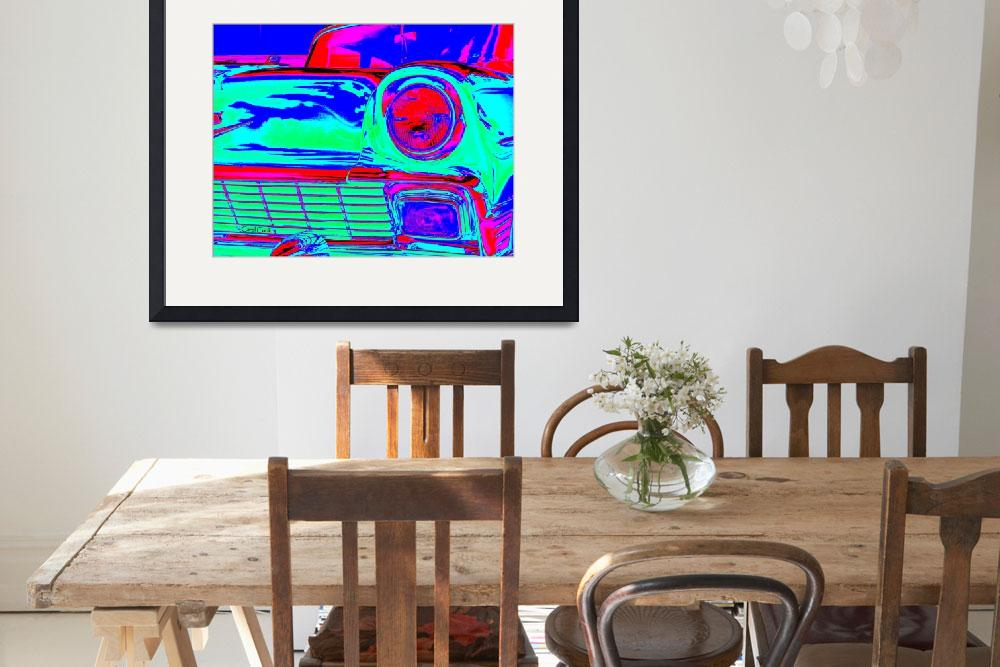 """""""Neon Chevy&quot  (2013) by ArtbyCarol"""