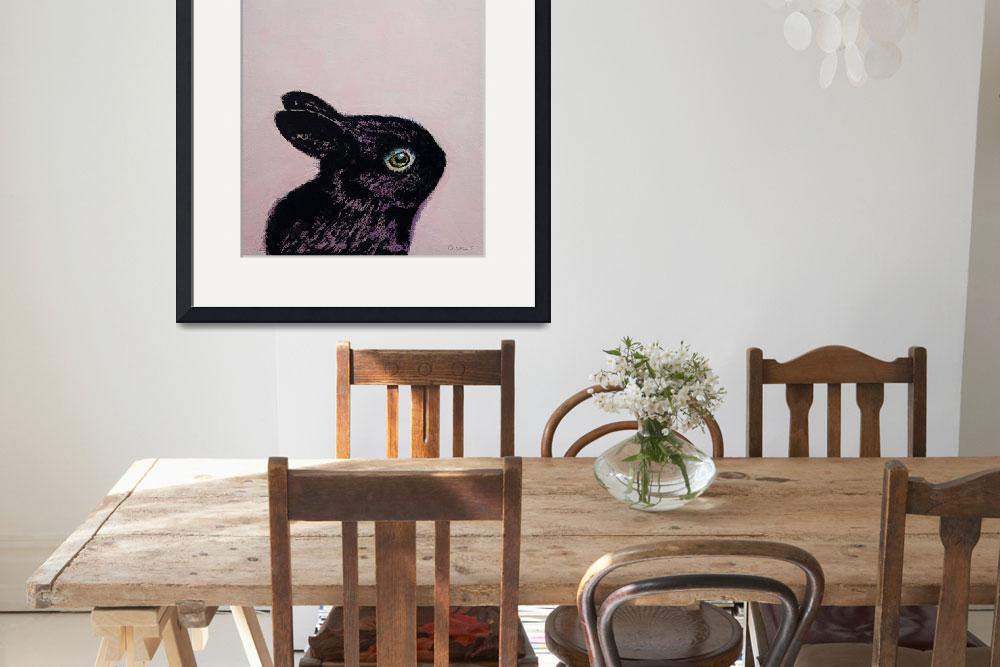 """""""Black Bunny&quot  by creese"""