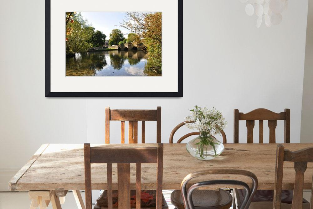 """""""Bakewell Bridge and The River Wye (20661-RDB)&quot  (2009) by rodjohnson"""