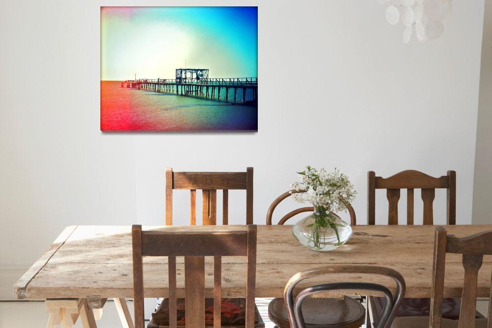 """Fishing Pier""  by ChrisAndruskiewicz"