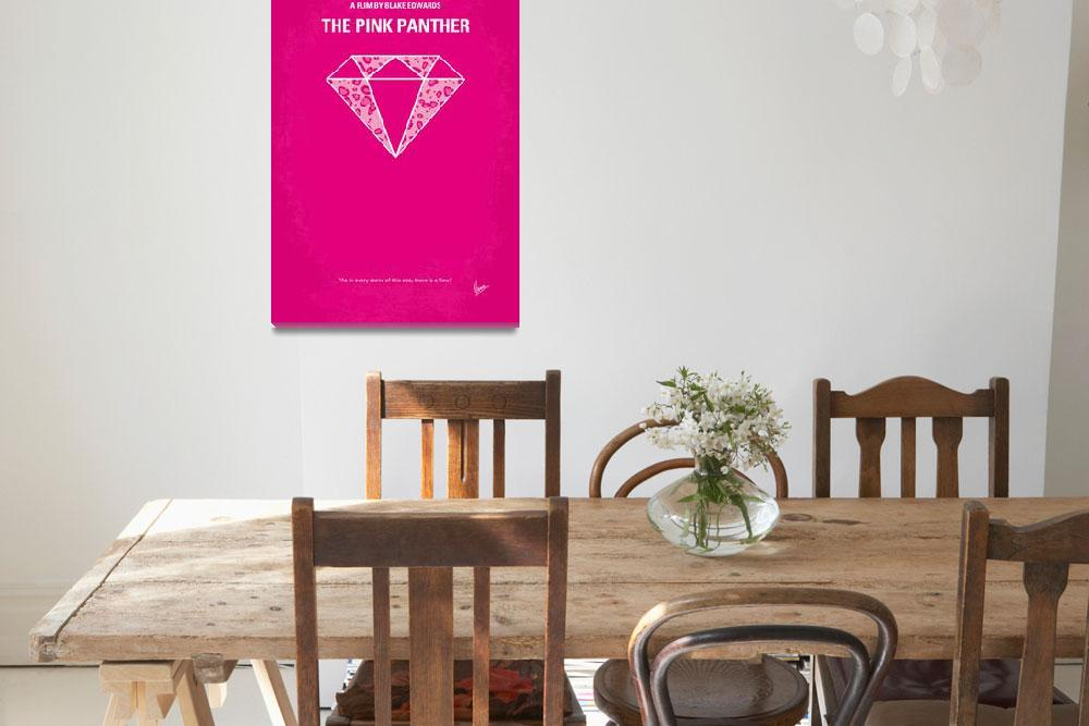 """""""No063 My Pink Panther minimal movie poster&quot  by Chungkong"""
