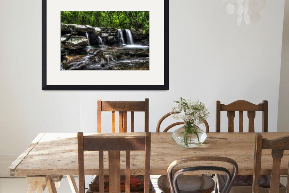 """""""Jonathan Run Falls - Ohiopyle State Park&quot  (2014) by Shadrags"""