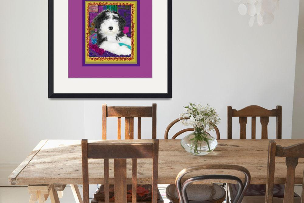 """Bearded Collie with stature""  (2009) by kring"