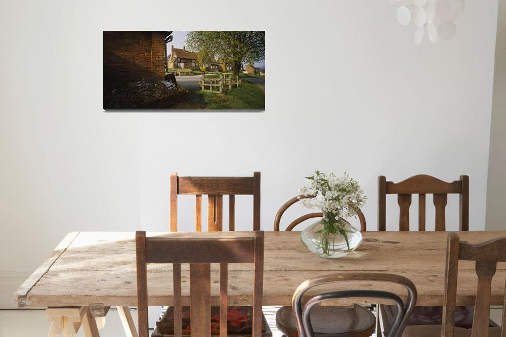 """""""Cottage in a village&quot  by Panoramic_Images"""