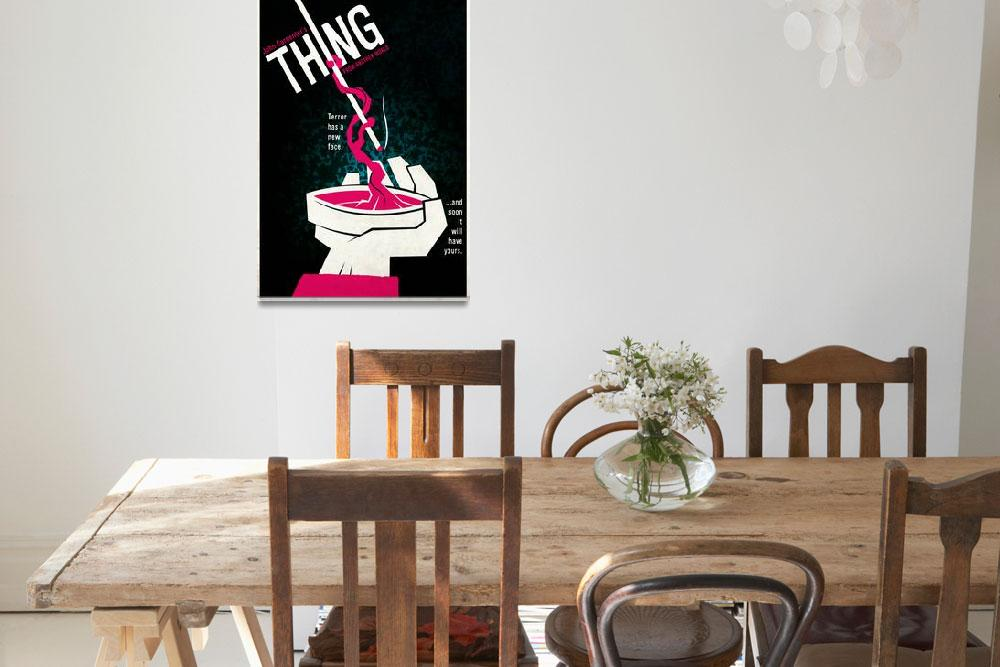 """""""the THING&quot  (2009) by TravisPitts"""