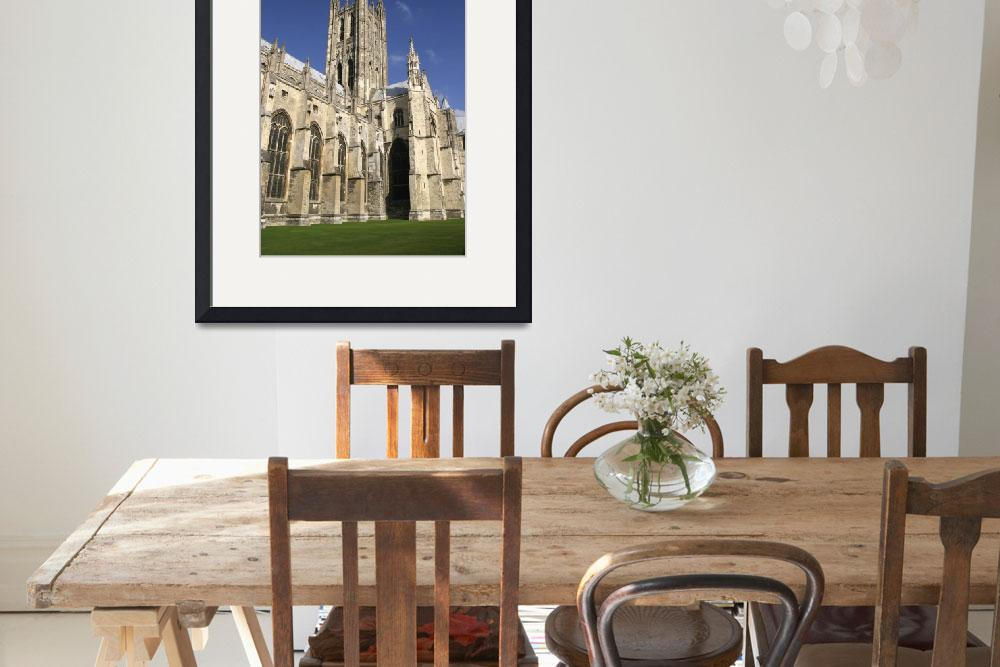 """""""Canterbury Cathedral, Kent, England&quot  by DesignPics"""