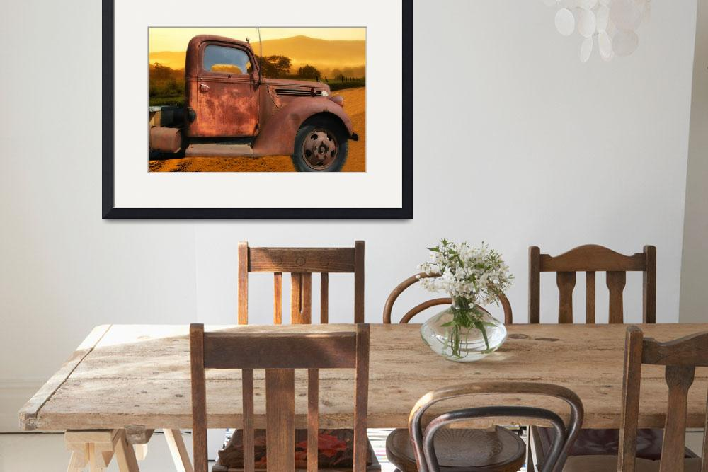 """""""Old Truck&quot  (2010) by patsphotos"""