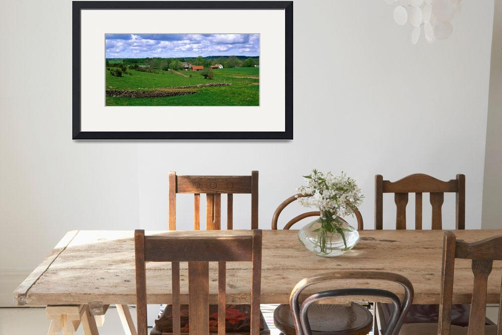 """""""Farm Dala Sweden&quot  by Panoramic_Images"""