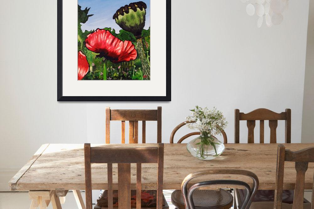 """""""Poppies and Pod&quot  (2008) by harryboardman"""
