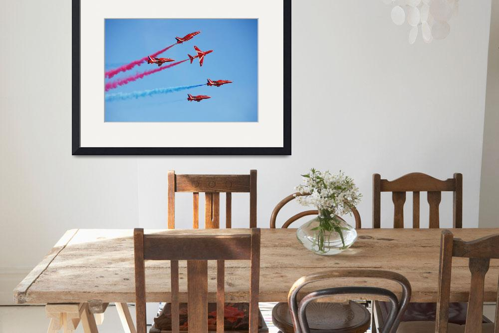 """""""Red Arrows display team&quot  (2012) by DavidFowler"""