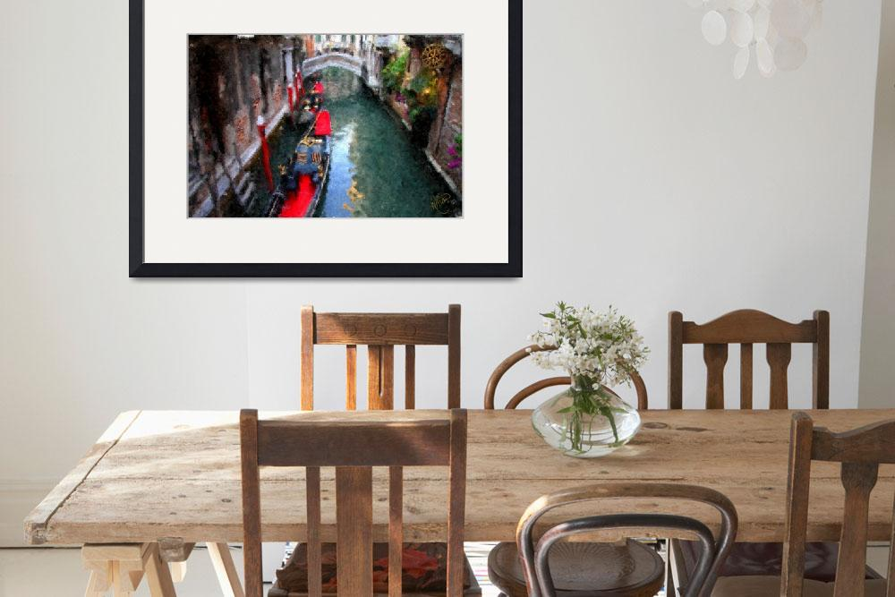 """""""Venice Canal Vision&quot  (2011) by marywhitmer"""