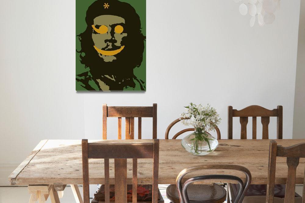 """Che Guevara Emoticomunist 1""  by RubinoFineArt"