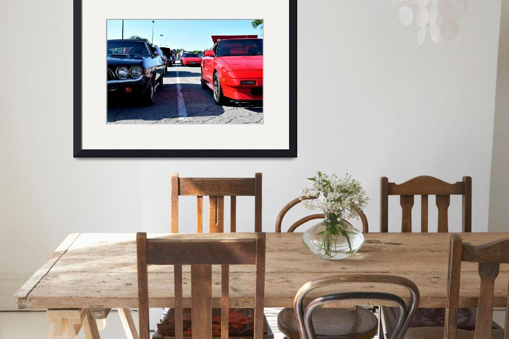 """""""Muscle Cars&quot  (2016) by RainBeckerPhotography"""