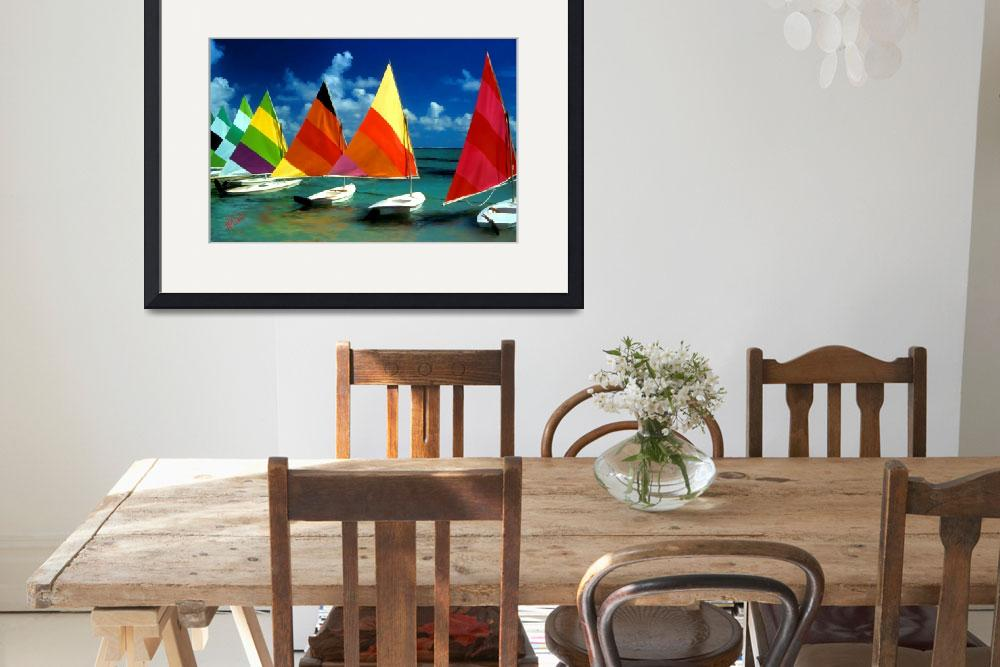 """""""Sailboat Sensations&quot  by marywhitmer"""