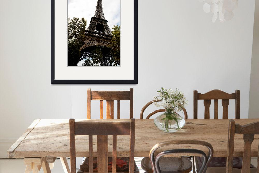 """""""Eiffel Tower""""  (2011) by AthenasArt"""