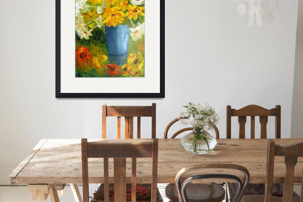 """""""Still Life with Daisies""""  (2010) by FASIARTS"""